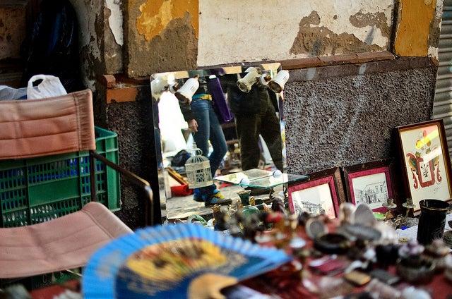 Mercadillo de la calle Feria de Sevilla