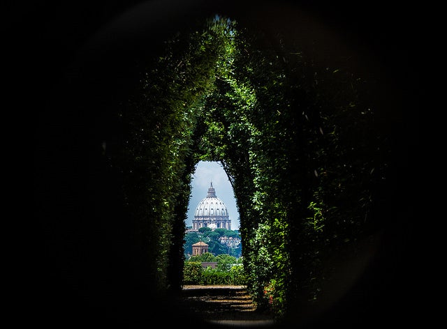 Mirilla de San Pedro, uno de los rincones secretos de Roma