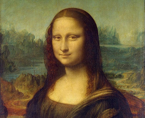 La Gioconda de Leonardo, uno de los pintores del Renacimiento.