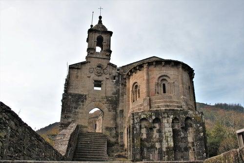Monasterio de Caaveiro en Fragas del Eume