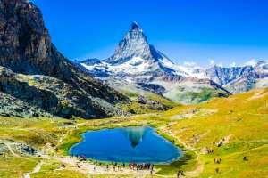 Monte Cervino, una de las montañas más bonitas del mundo