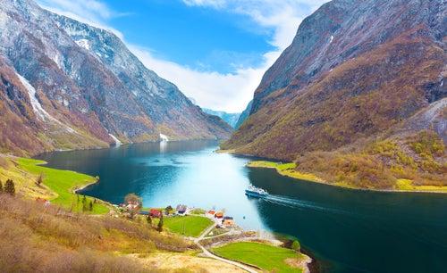 Naeroyfjor, uno delos rincones de Noruega más bonitos