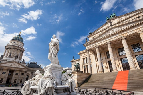Operahaus en Berlín Alemania