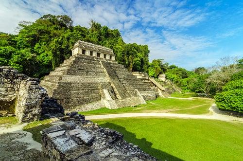 Palenque uen México, uno de los países latinoamericanos más bellos
