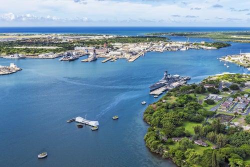 Pearl Harbour, escenario de la Segunda Guerra Mundial