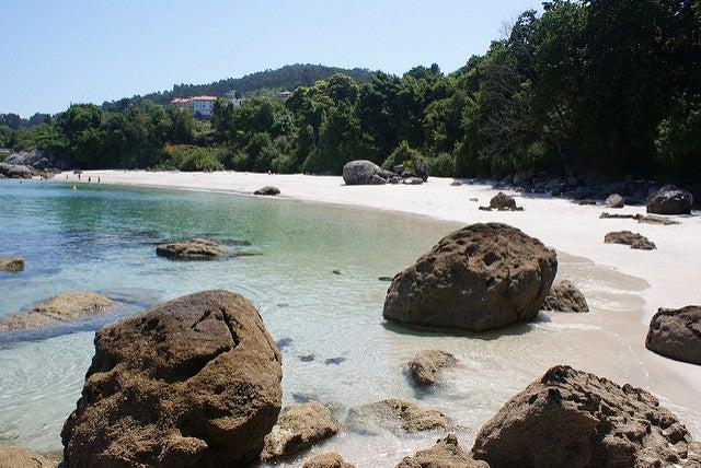 Playa Castiñeiras en Pontevedra