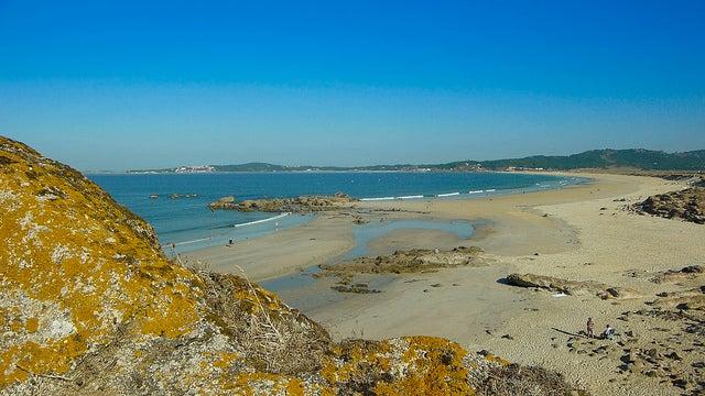 Playa de la Lanzada en Pontevedra