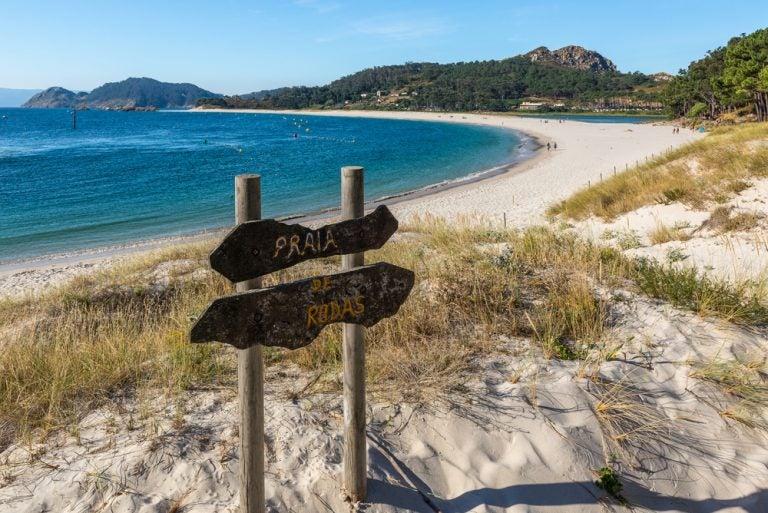 Recorremos las mejores playas en Pontevedra