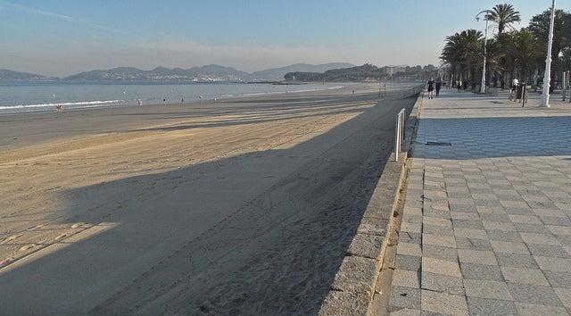 Playa de Samil en Pontevedra