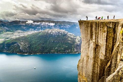 Preikestolen, uno de los rincones de Noruega más espectaculares