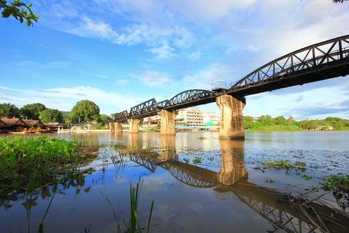 Puente sobre el río Kwai, Recuerdo de la Segunda Guerra Mundial