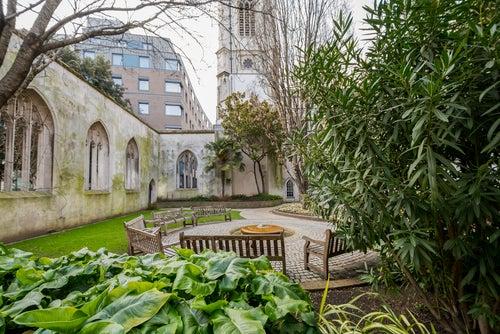 Iglesia de Saint Dunstand, uno de los rincones de Londres más bonitos