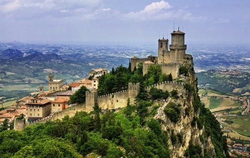 San Marino, uno de los países más pequeños del mundo