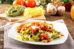 Tagliatelle, típico en restaurantes italianos