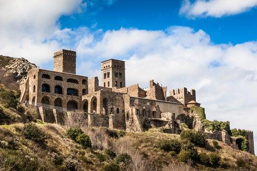 Monasterio de Sant Pere de Rodas en Port de la Selva