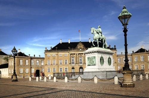 Palacio Real, una de las cosas que ver en Copenhague
