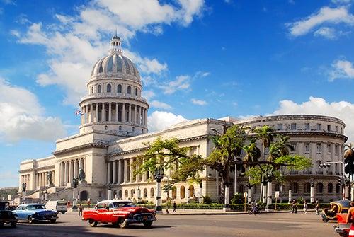 Capitolio, lugar de visita imprescindible en un viaje a La Habana