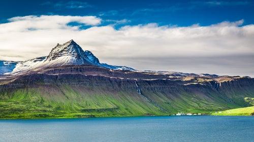 Fiordo en Islandia