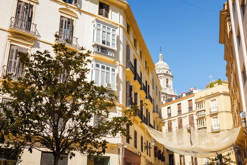 Zona centro, lugar para alojarse en Málaga