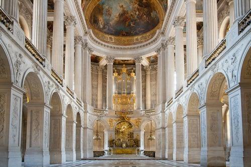 Capilla del Palacio de Versalles