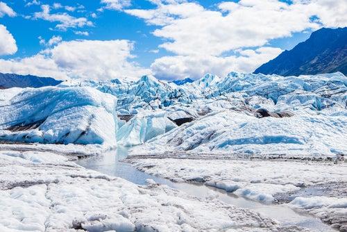 Glaciar Matanuska en Alaska