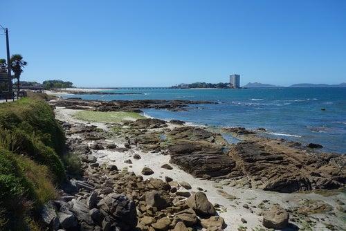 Playas de Pontevedra, Samil en Vigo