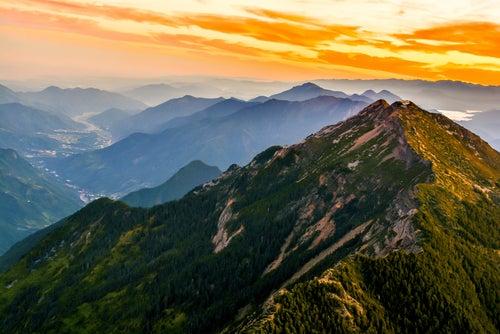 Montañas Rocosas de Yu Shan