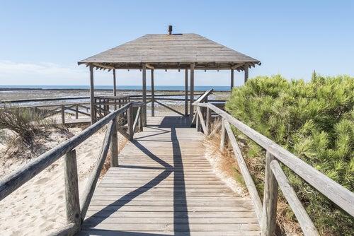 Punta Candor, una de las playas nudistas del sur