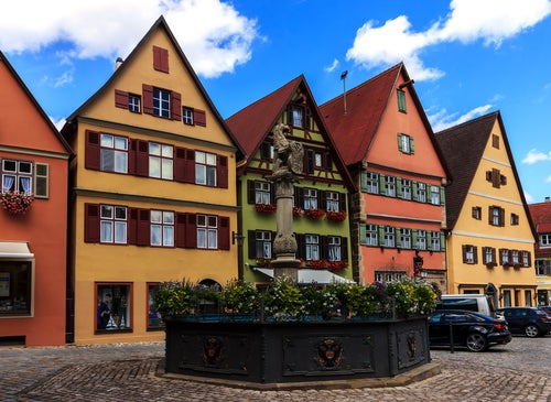 Dinkelsbühl, un pueblo de cuento en Alemania
