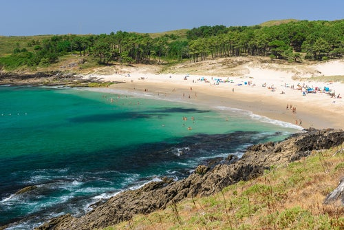 Playas de Pontevedra, playa Melide