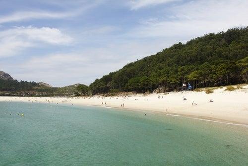 Playas de Pontevedra, playa de Rodas