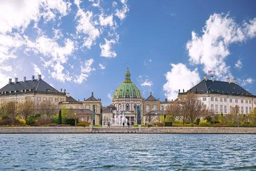 Iglesia de mármol, una de las cosas que ver en Copenhague