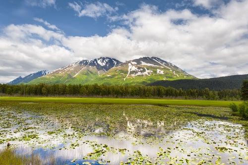 Chugach National Forest en Alaska