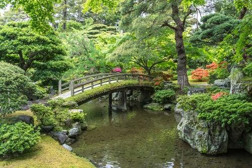 Jardines del palacio imperial, una de los tesoros de Kioto