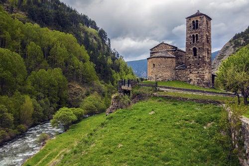 Canillo en el Principado de Andorra