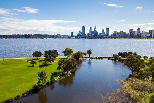 Perth, una de las ciudades de Australia