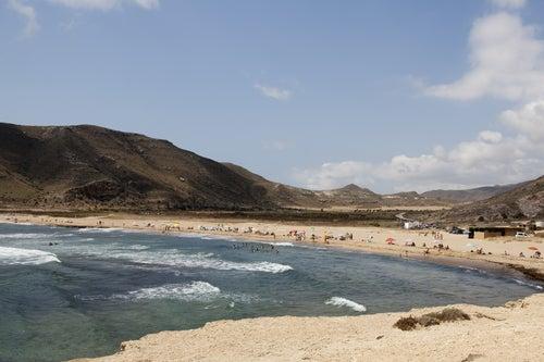 Playas nudistas, El Playazo en Vera