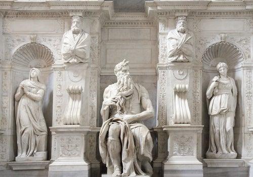 Moises en San Pietro in Víncoli, uno de los rincones secretos de Roma