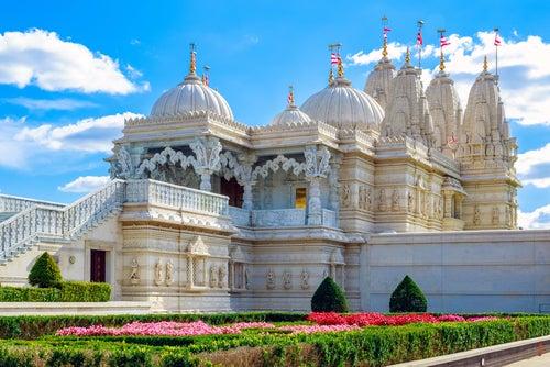 Templo Neasden, uno de los rincones de Londres más sorprendentes