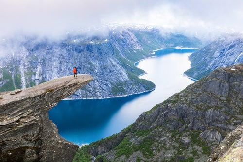 Trolltunga, una de los rincones de Noruega