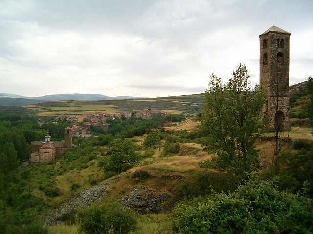 Vista de Yanguas