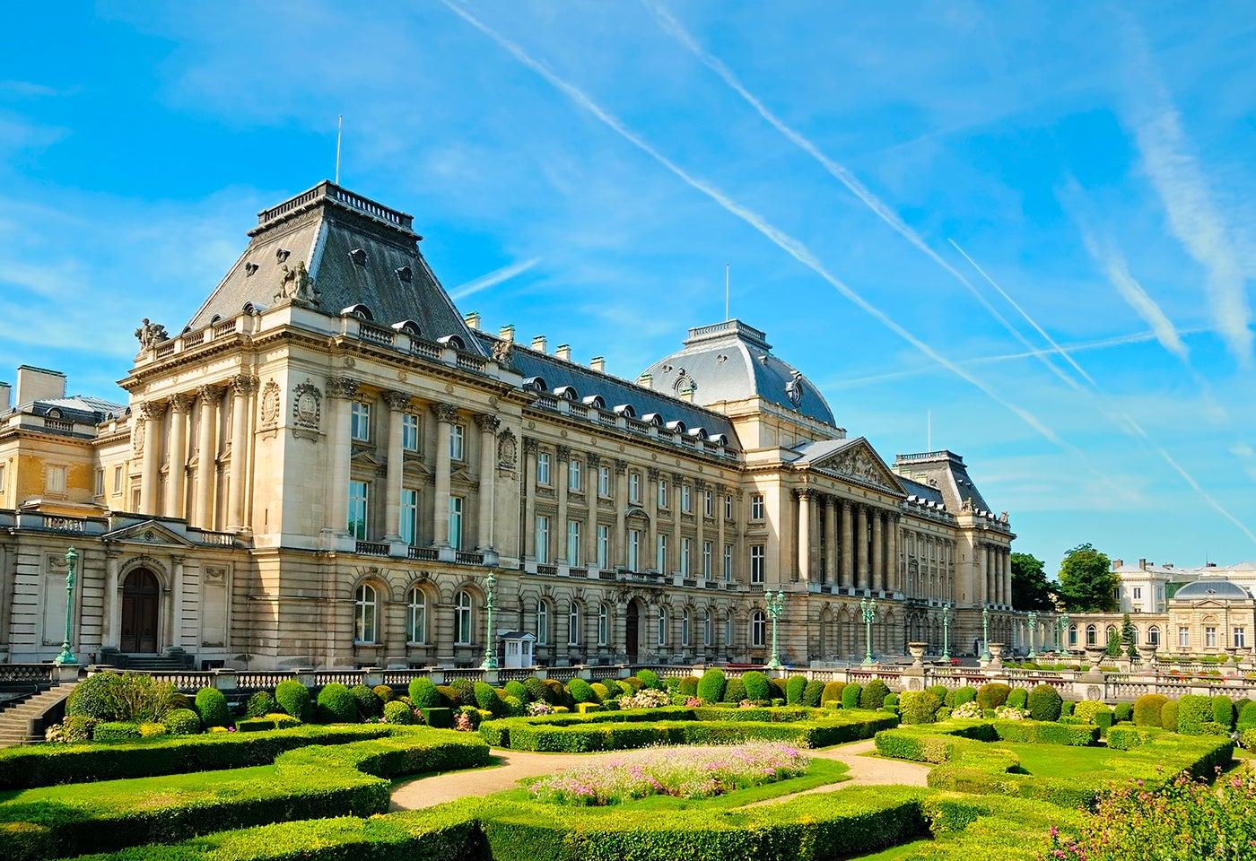 Palacio REal, uno de los lugares que ver en Bruselas