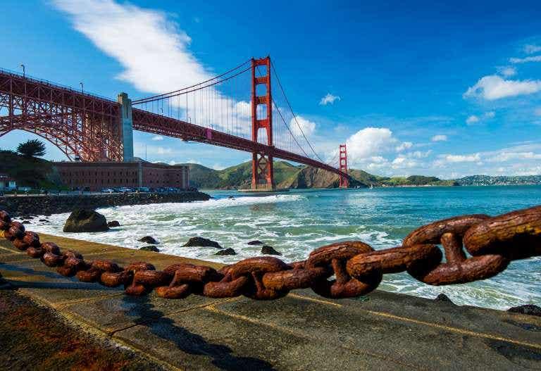 Conoce la historia del Golden Gate de San Francisco