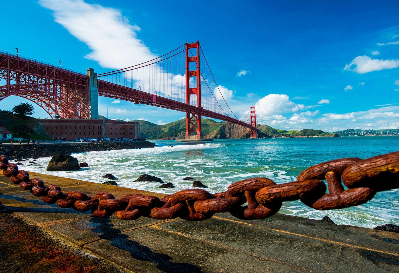 Los mejores planes para llevar a cabo cerca del Golden Gate