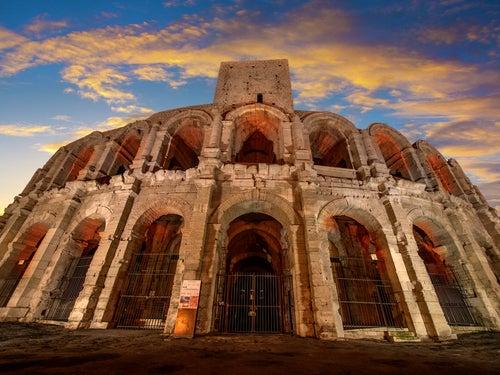 Anfiteatro romano de Arlés en la Provenza