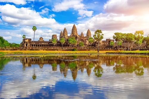 Angkor Wat en Camboya, Asia