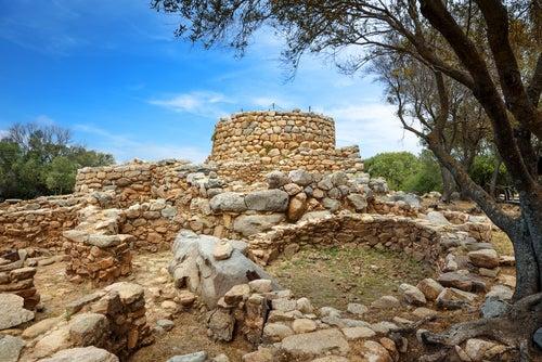 REstos arqueológicos en Arzachena en Costa Esmeralda