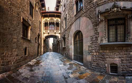 Un paseo por el Barrio Gótico de Barcelona