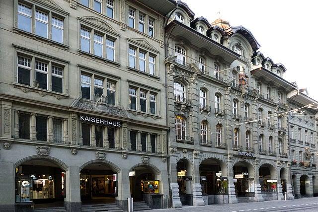 Marktgasse en Berna