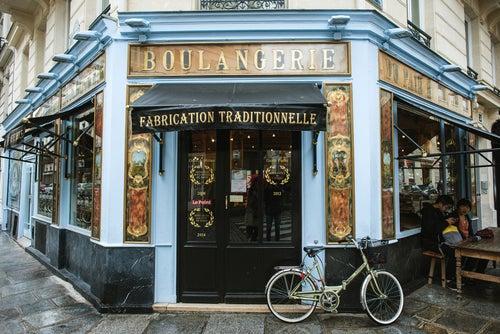 Boulangerie en París
